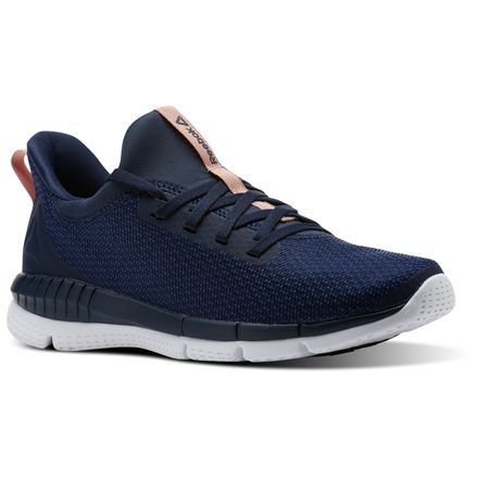 Reebok Print Her 2.0 THRD Women's Running Shoes in Collegiate Navy / Washed Blue / White