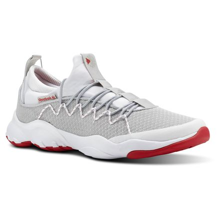 Reebok DMX Fusion Lite Unisex Retro Running Shoes in Skull Grey