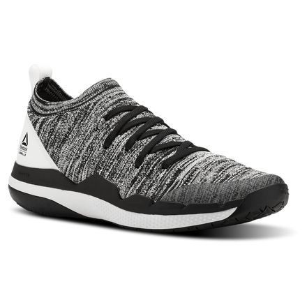 Reebok Ultra Circuit TR Ultraknit Women's Studio Shoes in Black / White