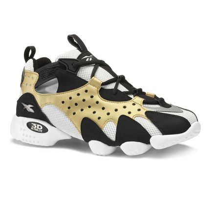 Reebok Men's Retro Running Shoes 3D OP .98 in Gold