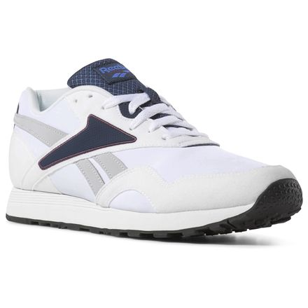 2177de13fb106 Reebok Rapide Men s Retro Running Shoes in White