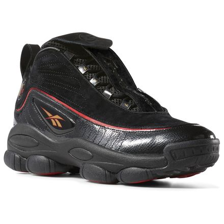 Reebok Iverson Legacy Unisex Basketball Shoes in Black / Red
