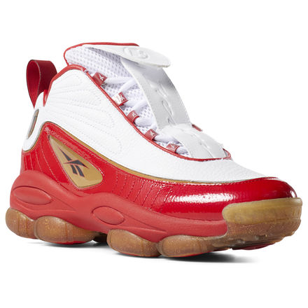 Reebok Iverson Legacy Unisex Basketball Shoes in Red / White