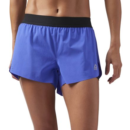 Reebok Women's Training 2-in-1 Perforated Shorts in Acid Blue