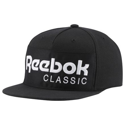 Reebok Classics Foundation Casual Unisex Hat in Black / White