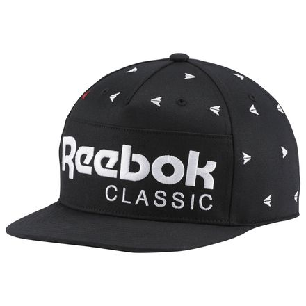 Reebok Classic Unisex Casual Embroidered Hat in Black