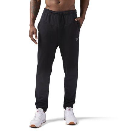 Reebok Graphic Track Pant Men's Casual Sweatpants in Black