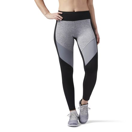 Reebok Sport Essentials Women's Training Leggings in Black / Grey