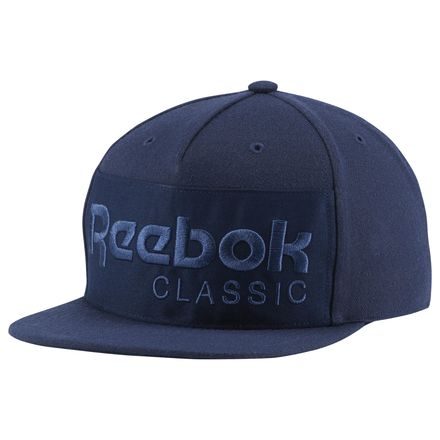 Reebok Classics Foundation Casual Unisex Hat in Collegiate Navy / Washed Blue