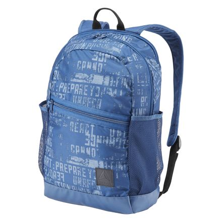 Reebok Style Foundation Active Training Graphic Backpack in Blue