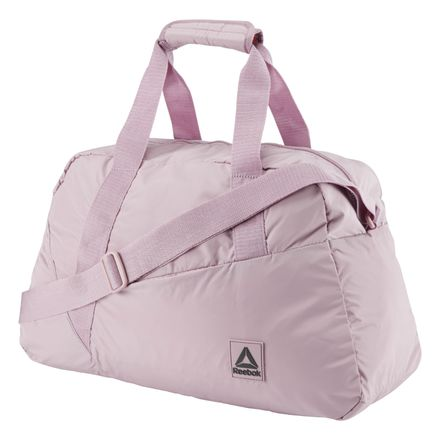 Reebok Women's Training Grip Duffle Bag in Pink