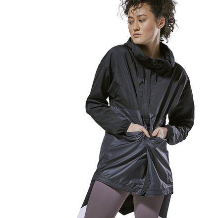Reebok Women's Lifestyle Training Supply Jacket in Black