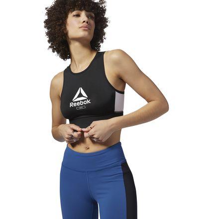 Reebok Layering Women's Training Sports Bralette in Black