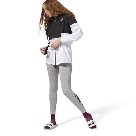 Reebok Essential Women's Casual, Lifestyle Jersey Leggings in Grey