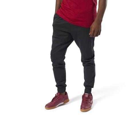 Reebok Classics Men's Casual, Lifestyle Advanced Trackpants in Black