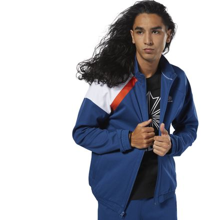 Reebok Classics Men's Casual, Lifestyle Advanced Track jacket in Blue