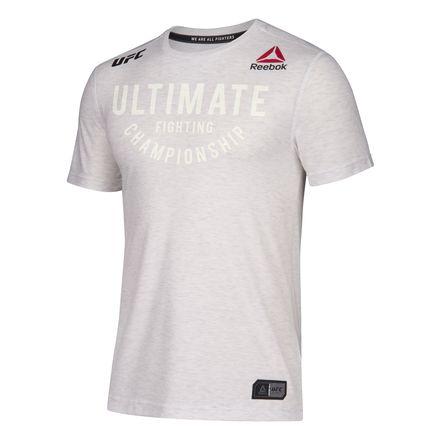 Reebok UFC Fight Night Champ Walkout Jersey Men's MMA T-Shirt in Chalk