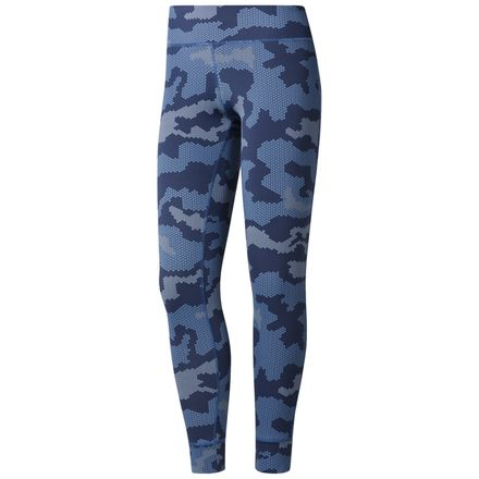 Reebok Women's Training Lux Leggings in Navy / Blue