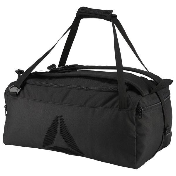Reebok Active Enhanced Unisex Training Convertible Grip Bag in Black
