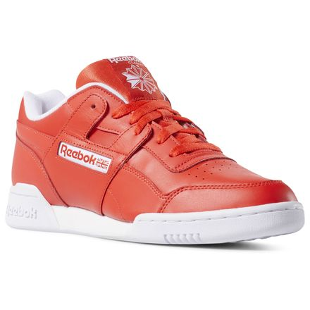 2c3c9845feab13 Reebok Workout Plus Men s Casual Shoes in Red