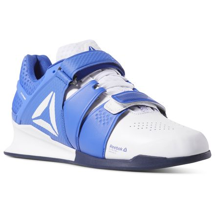 Reebok Legacy Lifter Men's Training Shoes in Blue / White