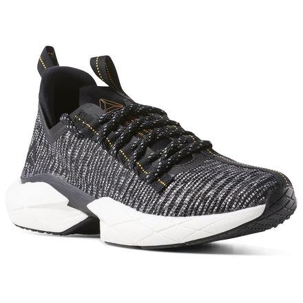 Reebok Sole Fury Floatride Unisex Running Shoes in Black / White