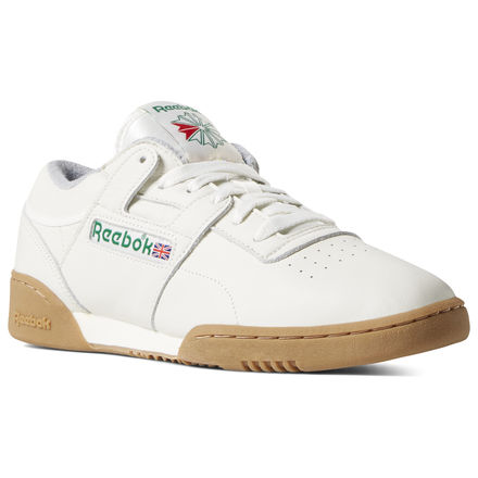 Reebok Workout Clean MU Unisex Lifestyle Shoes in Chalk