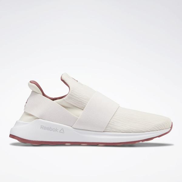 Reebok Ever Road DMX Slip-On Women's Walking Shoes in Light Pink