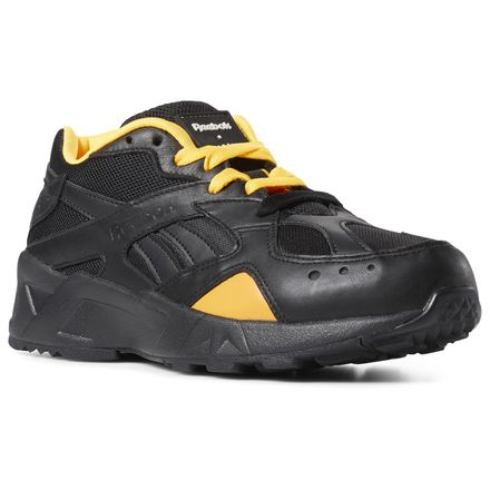 Reebok Unisex Aztrek x Gigi Hadid Retro Running Shoes in Black
