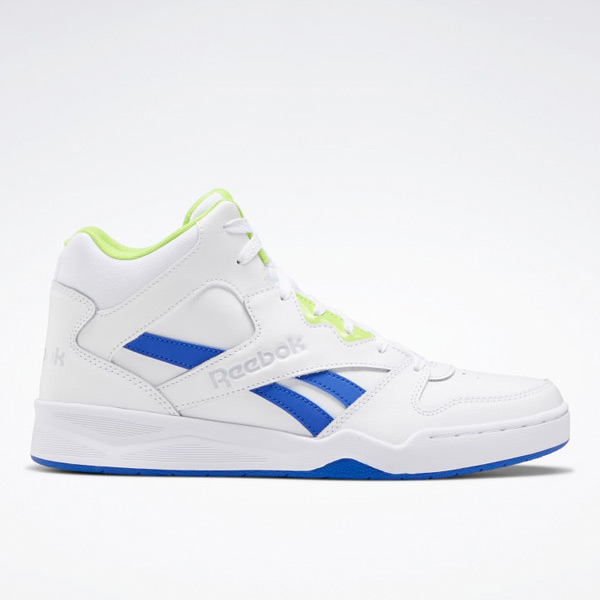 Reebok Men's Royal BB 4500 Hi 2 Basketball Shoes in White / Blue