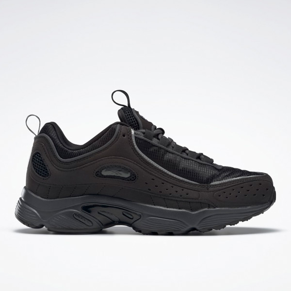 Reebok Daytona DMX II Unisex Retro Running, Lifestyle Shoes in Black
