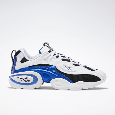 Reebok Unisex Electrolyte 97 Running Shoes in White / Blue