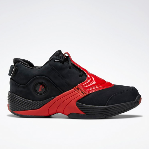 Reebok Unisex Answer V Basketball Shoes in Black / Red