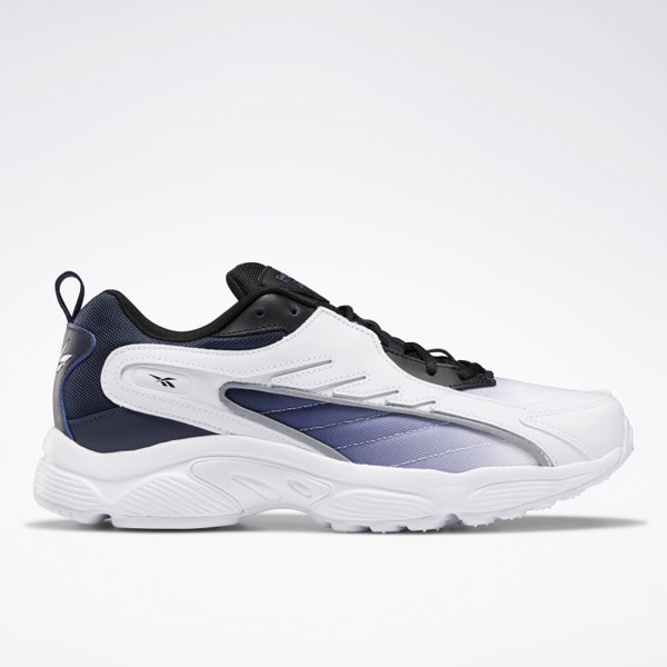 Reebok DMX Series 2K X Unisex Retro Running, Lifestyle Shoes in White