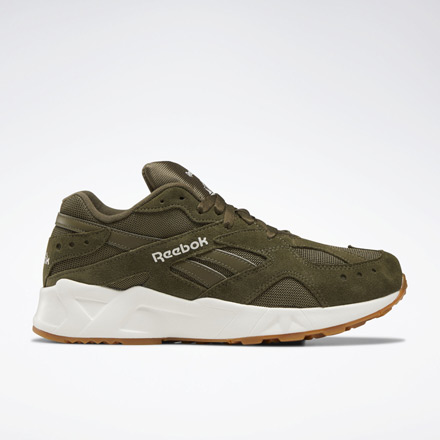 Reebok AZTREK 93 Unisex Classic Shoes in Army Green