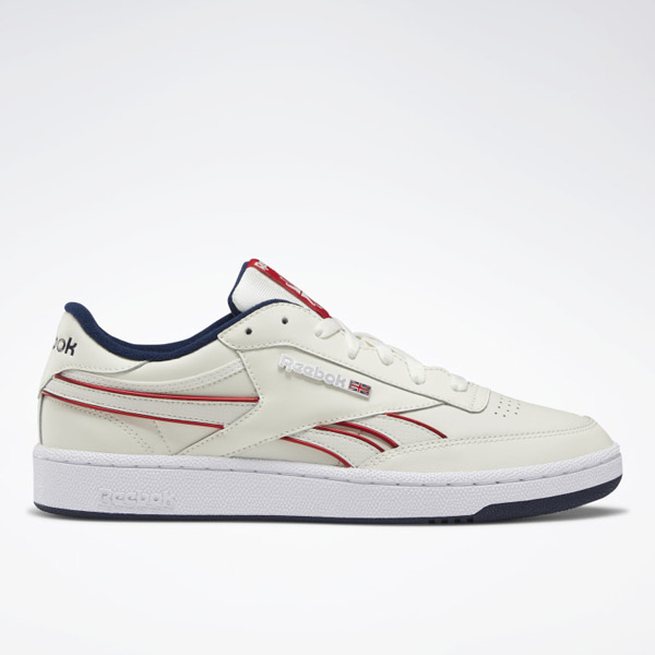 Reebok Club C Revenge Plus Men's Court, Lifestyle Shoes in Chalk