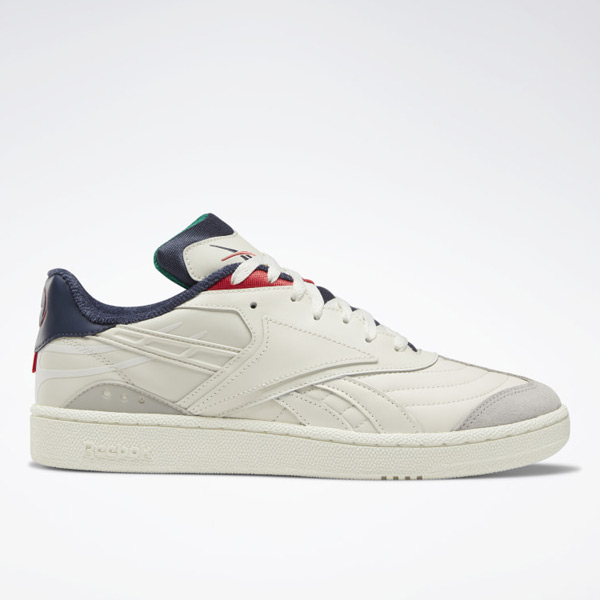 Reebok Club C RC 1.0 Unisex Court, Lifestyle Shoes in Chalk