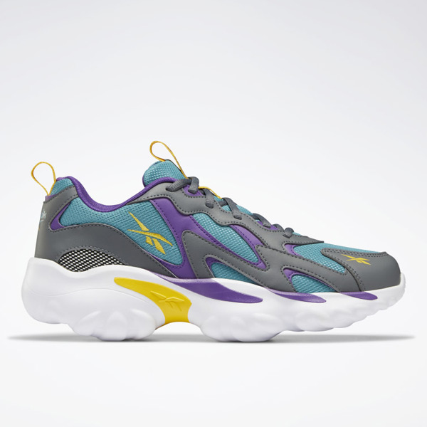Reebok DMX Series 1000 Unisex Retro Running, Lifestyle Shoes in Grey