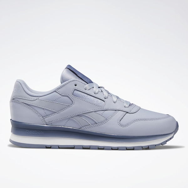 Reebok Classic Women's Lifestyle Leather Shoes in Blue