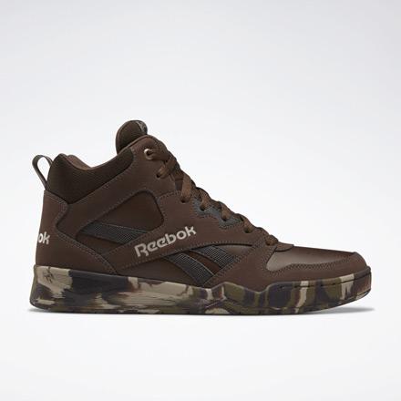 Reebok ROYAL BB4500 HI Men's Shoes in Brown / Camo