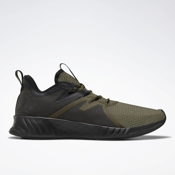 Reebok Fusium Run 2.0 Men's Running Shoes in Army Green / Black