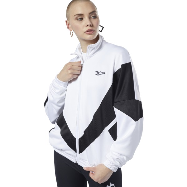 Reebok Classics Vector Women's Lifestyle, Track Jacket in White
