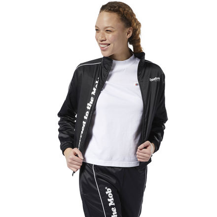 Reebok Classics x Married to the Mob Women's Lifestyle Track Jacket in Black