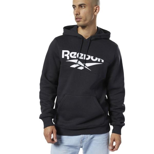 Reebok Classics Vector Men's Lifestyle Hoodie in Black