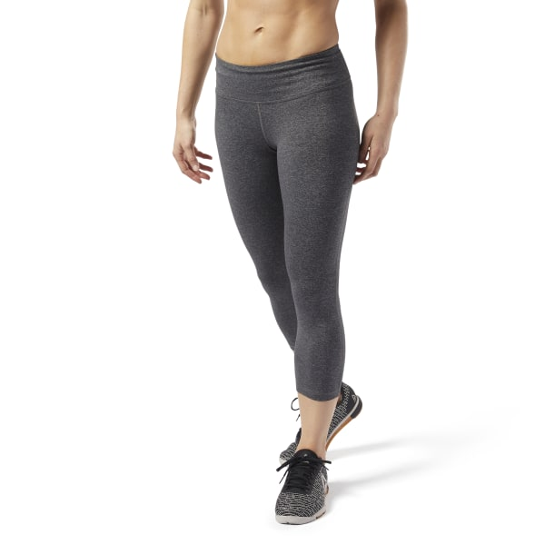 Reebok Women's Lux 3/4 Tights 2.0 Women's Training Leggings in Dark Grey