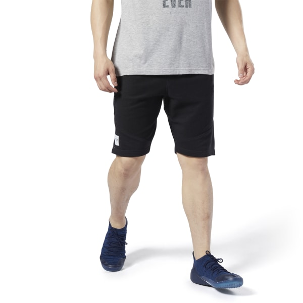 Reebok LES MILLS® Men's Studio Twill Shorts in Black