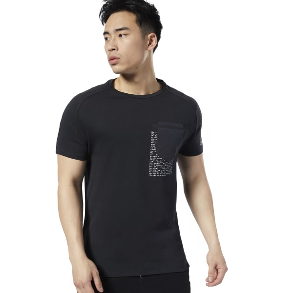 Reebok LES MILLS® Men's Studio Move Tee in Black