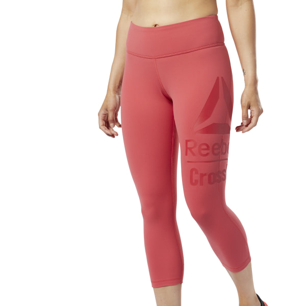 Reebok CrossFit® Lux Women's Training 3/4 Tights in Rebel Red