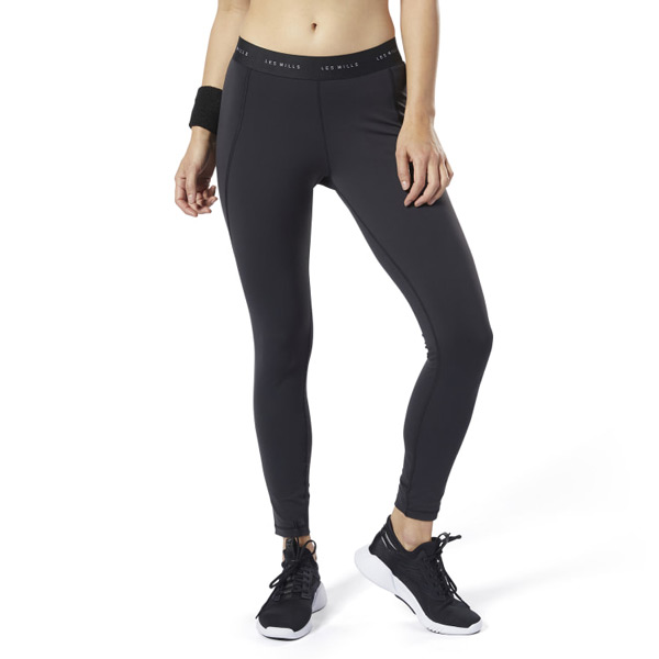 Reebok LES MILLS® Lux Women's Studio Tights 2.0 in Black