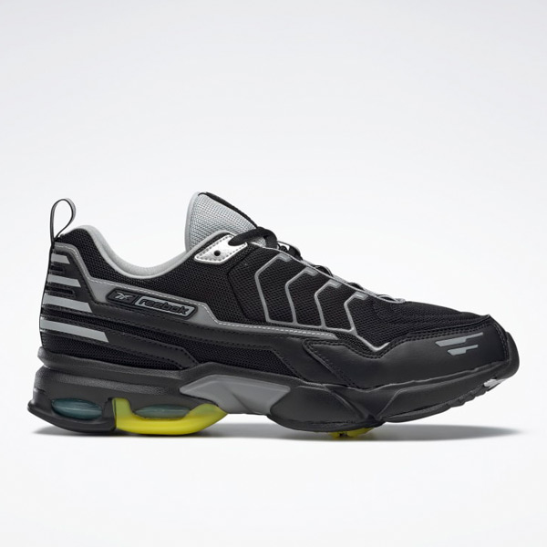 Reebok Unisex DMX6 MMI Retro Running Shoes in Black